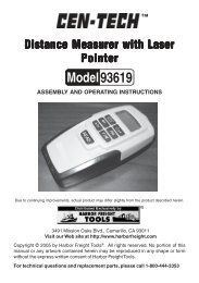 93619 Distance Measure - Harbor Freight Tools
