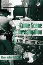 Crime Scene Investigation - National Criminal Justice Reference ...
