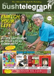 READ US ONLINE - The Bush Telegraph Weekly