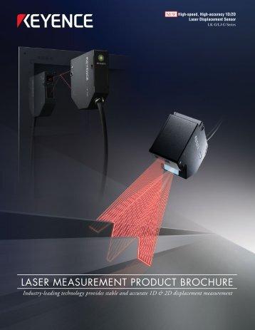 laser measurement product brochure - Cincinnati Automation