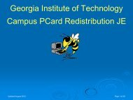 Course Guide - Georgia Institute of Technology