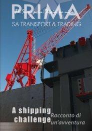 A shipping challenge - Prima SA Transport & Trading