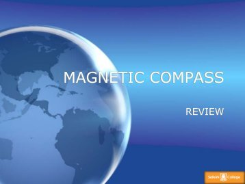 MAGNETIC COMPASS AND GYROS