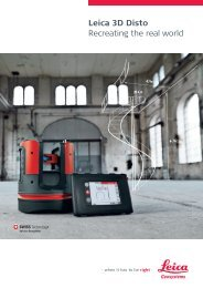 Leica 3D Disto - Brochure - Leica Geosystems