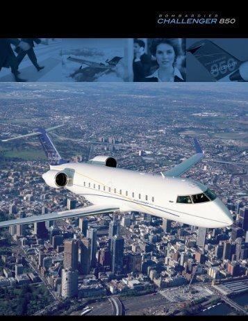 Challenger 850 Fact Sheet - Bombardier