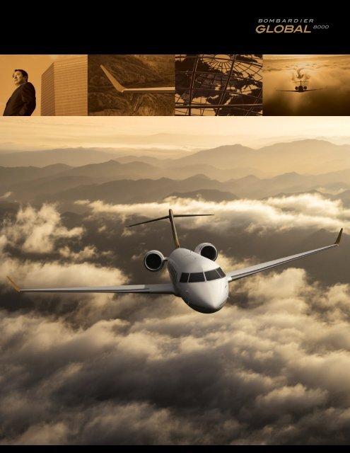 Global 8000 sheet - Bombardier Business Aircraft