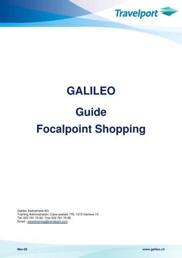 Galileo basic commands.
