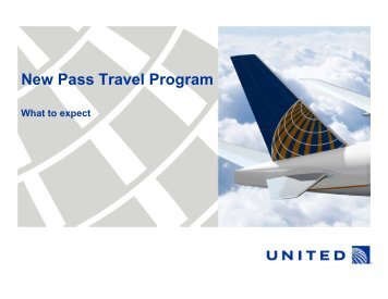 New Pass Travel Program - KeepandShare