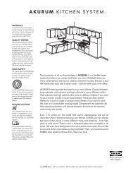 Akurum kitchen system - Ikea Fans
