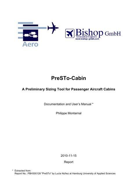 PreSTo-Cabin - A Preliminary Sizing Tool for Passenger