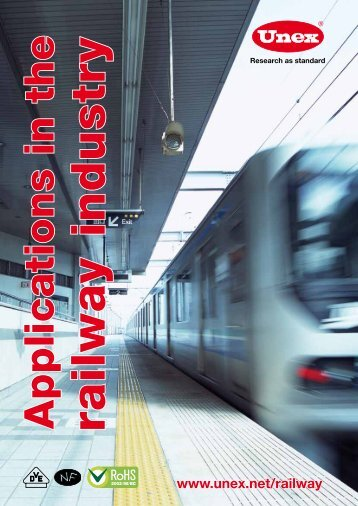 Applications in the railway industry - Unex