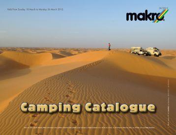 Camping Catalogue - Makro