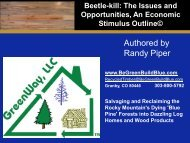 Authored by Randy Piper - Be Green Build Blue