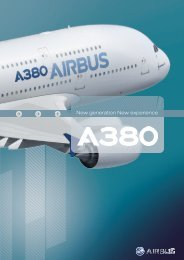 A380 New generation, new experience - leaflet - Airbus