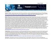 Weekly Travel Update - Creighton University