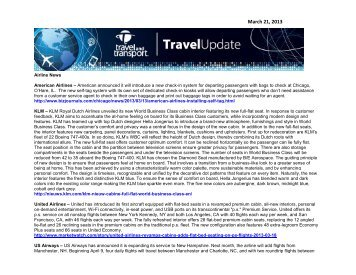 Weekly Travel Update - Creighton University
