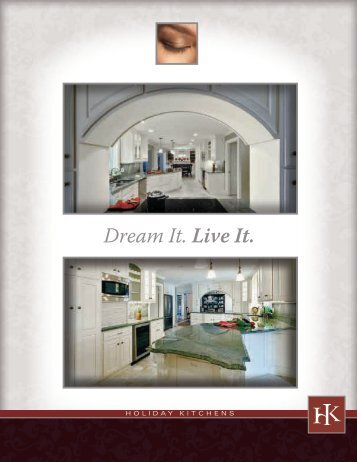 Holiday Kitchens Coffee Table Book