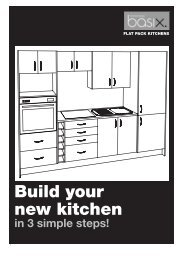 Build Your New Kitchen - Mitre 10 MEGA