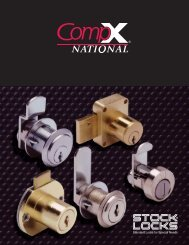 How Cabinet Locks Are Used - CompX International, Inc.