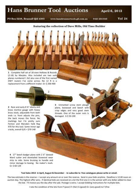 Hans Brunner Tools