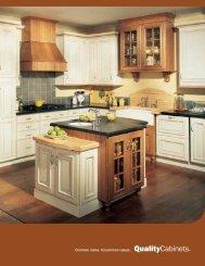 Quality Cabinets Brochure - Nonn's Design Showplace