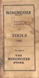 to download 1923 Winchester catalog pdf - Rose Antique Tools