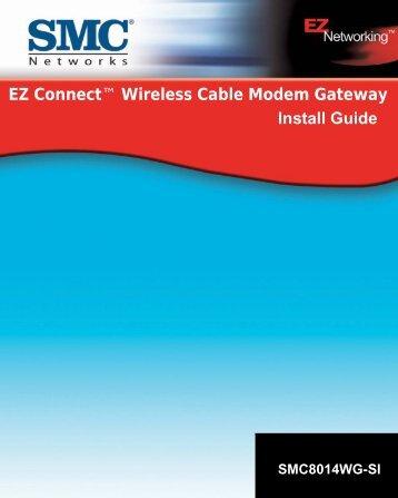 Wireless Cable Modem Gateway - SMC