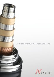Nexans Superconducting cable systems