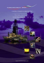 Download catalogue - Cleveland Cable