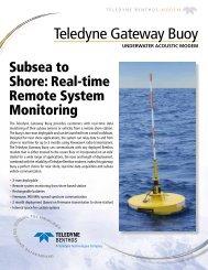 Teledyne Gateway Buoy - Teledyne Benthos