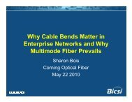 Why Cable Bend Matters in Enterprise Networks and - Bicsi