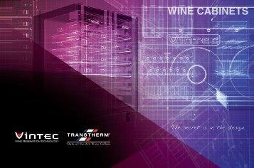 WINE CABINETS - Vintec