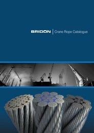 Crane Rope Catalogue - Bridon