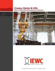 Cranes, Hoists & Lifts - IEWC