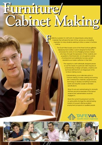 Furniture/Cabinet Making - South West Institute of Technology