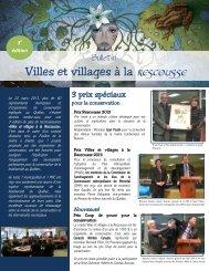 Villes et villages à la