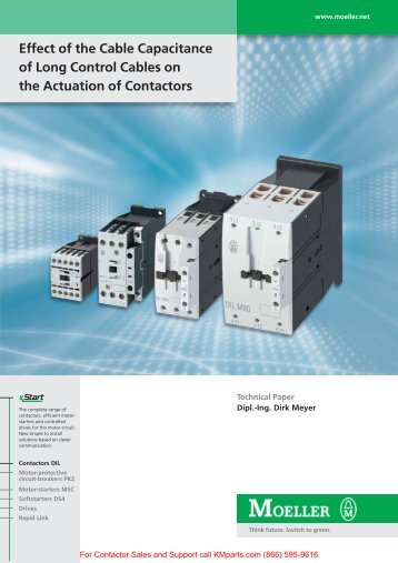 Effect of the Cable Capacitance of Long Control Cables on the ...