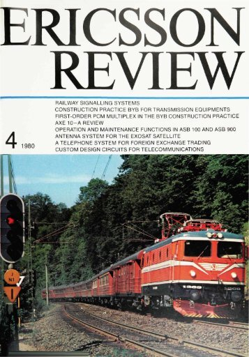 railway signalling systems construction practice - History of Ericsson ...