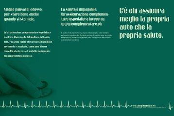 Un'assicurazione complementare ospedaliera le offre la libera ...