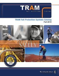 TRAM Fall Protection Systems Catalog