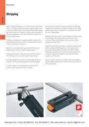 Weidmuller Cable Stripping Tools