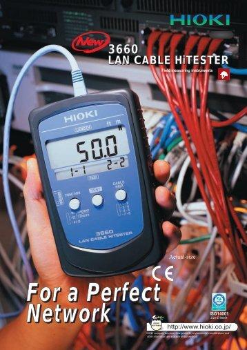 3660 LAN CABLE HiTESTER