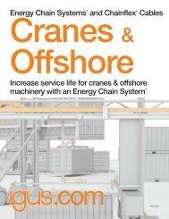 Cranes & Offshore - Igus