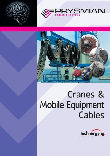 Leaflet Cranes and Mobile Equipment - Prysmian Cables and Systems