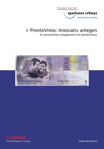 ProntoVinto: Innovativ anlegen