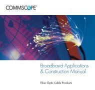 Broadband Applications & Construction Manual - Public - CommScope