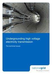 Undergrounding high voltage electricity transmission - Landsnet