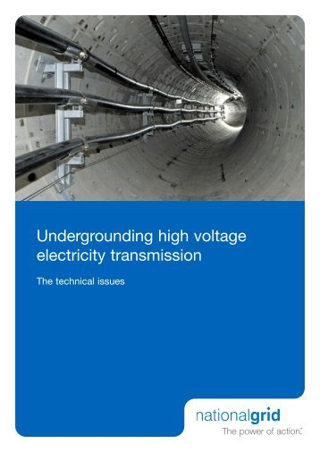 Undergrounding high voltage electricity transmission - Landsnet