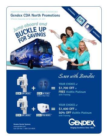 gendex bundle promos