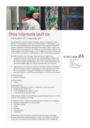 Ohne Informatik läuft nix - Privatklinik Meiringen